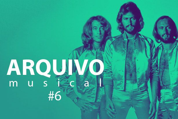 Imagem: Bee Gees no Arquivo Musical - Bee Gees Alive