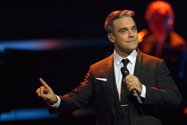 Imagem: Robbie Williams lança música Love My Life - robbiewilliams