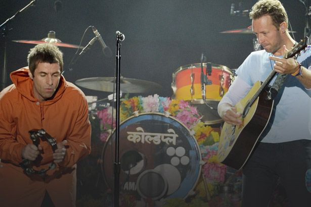 Imagem: Liam Gallagher pede desculpas para Chris Martin - Coldplay