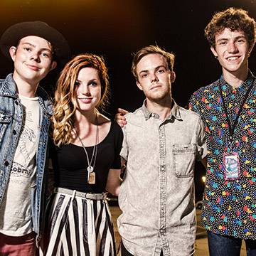 Imagem: Echosmith faz performance no The Tonight Show