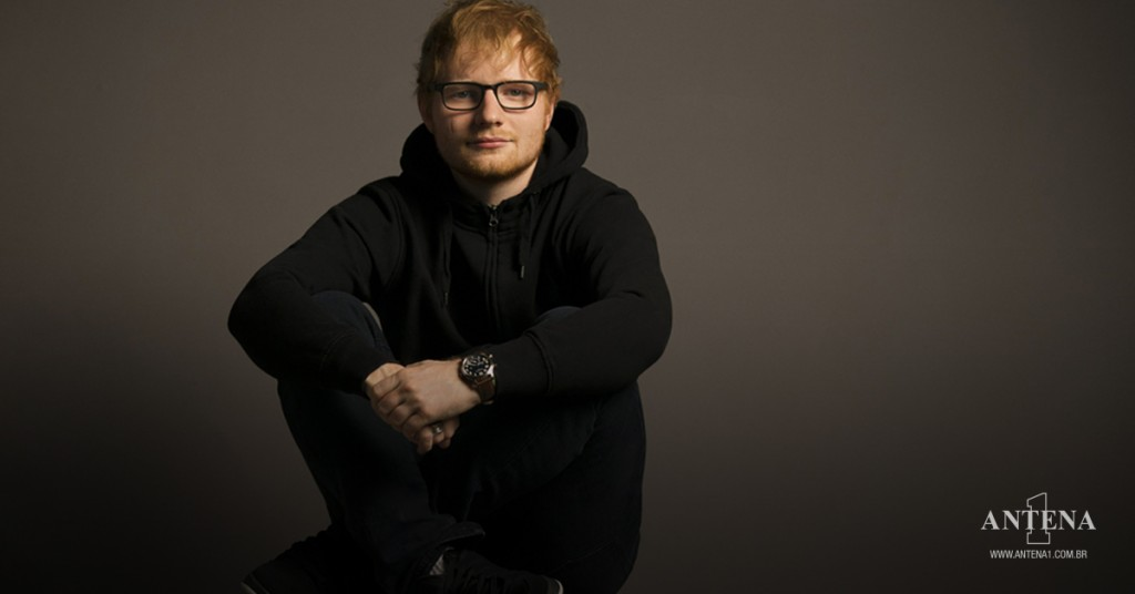 Placeholder - loading - Ed Sheeran em fundo característico