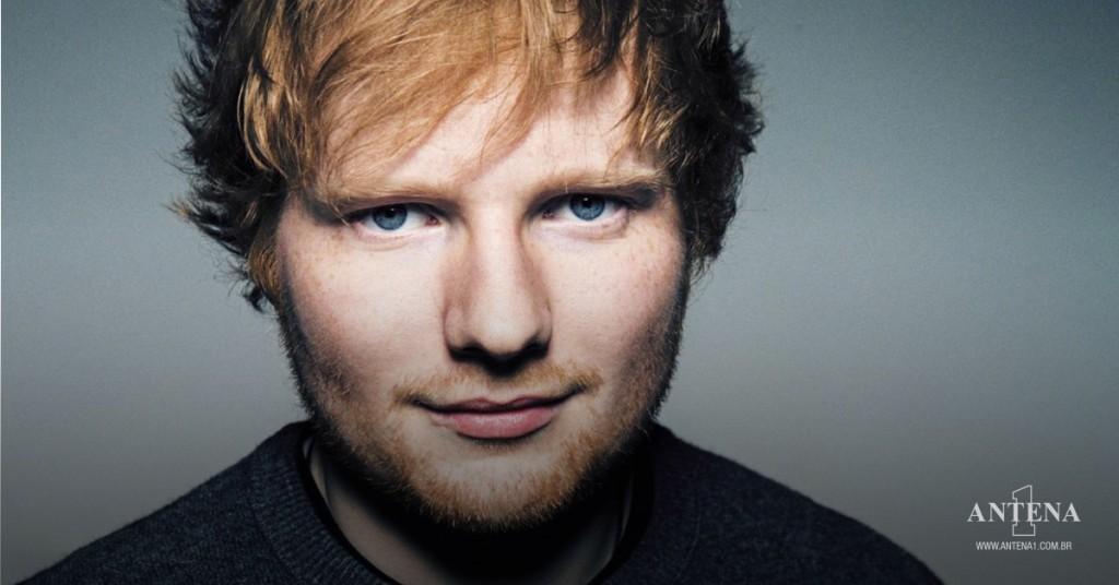Placeholder - loading - Ed Sheeran em fundo cinza