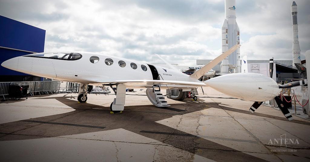 Placeholder - loading - Avião elétrico ganhou o nome de Alice. Crédito da imagem: Divulgação Eviation