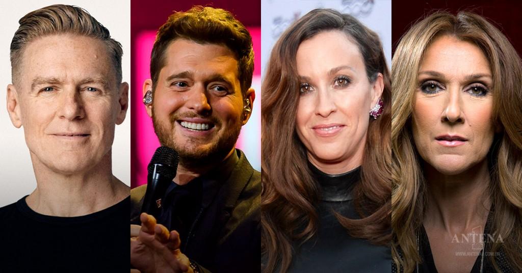 Placeholder - loading - Bryan Adams, Michael Bublé, Alanis Morissette e Celine Dion são alguns dos canadenses da programação.Crédito: iStock