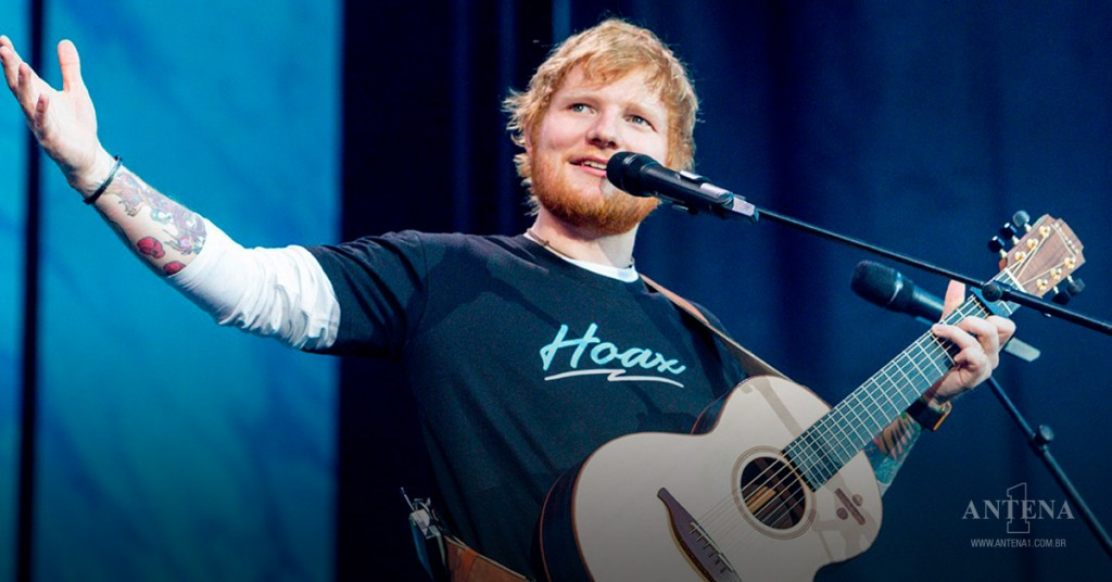 Placeholder - loading - Ed Sheeran em show em Madrid 2019 ANTENA1/divulgação