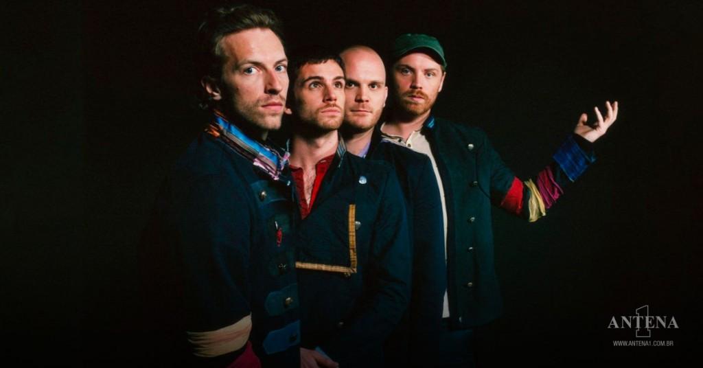 Placeholder - loading - Coldplay em fundo preto