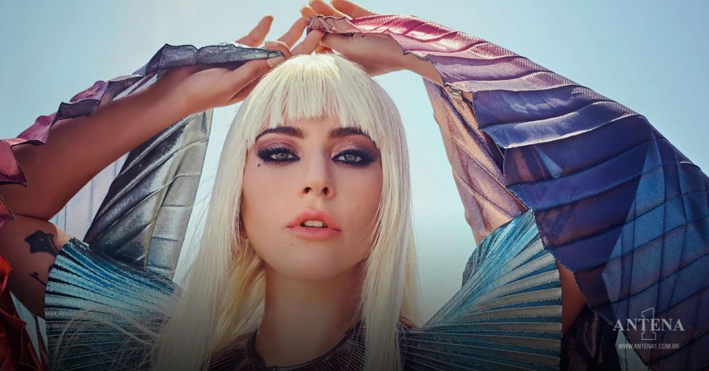 Placeholder - loading - Lady Gaga em fundo característico