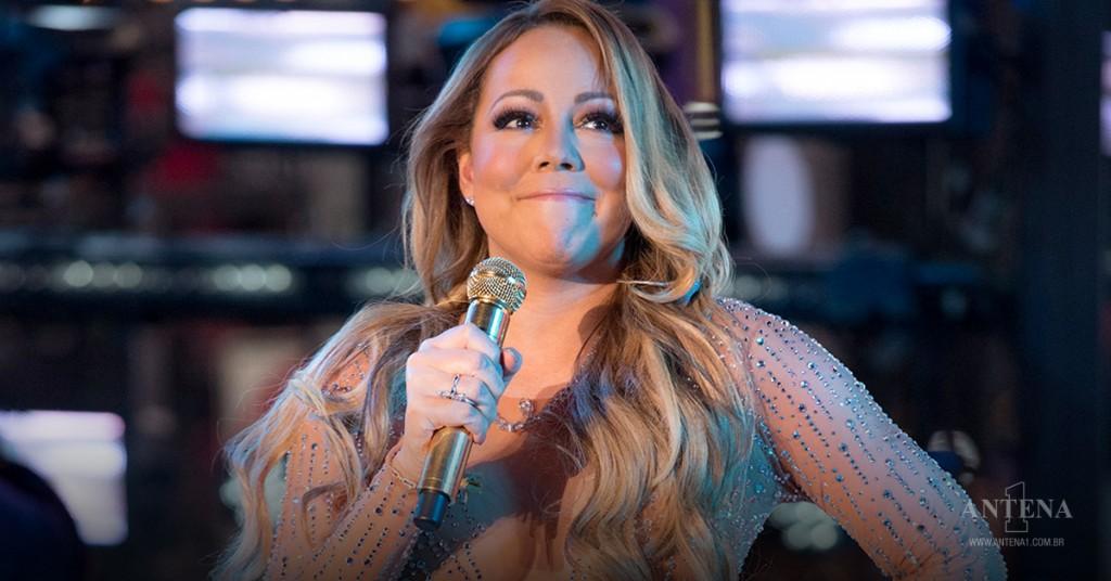 Placeholder - loading - Mariah Carey durante show recente ANTENA1/Divulgação