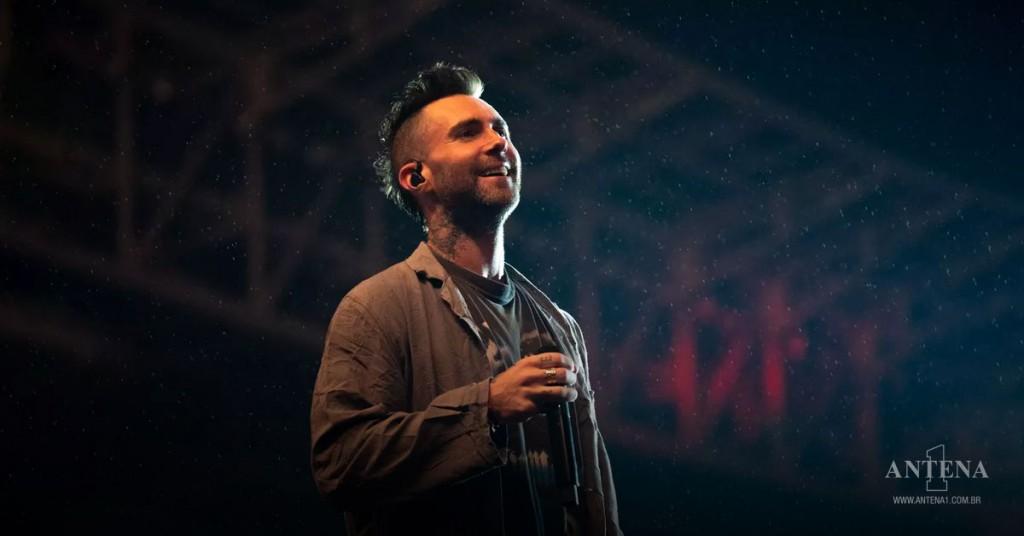 Placeholder - loading - Maroon 5 – Adam Levine do Maroon 5 performa no Allianz Parque em São Paulo, Brasil – Photoshoot/Divulgação