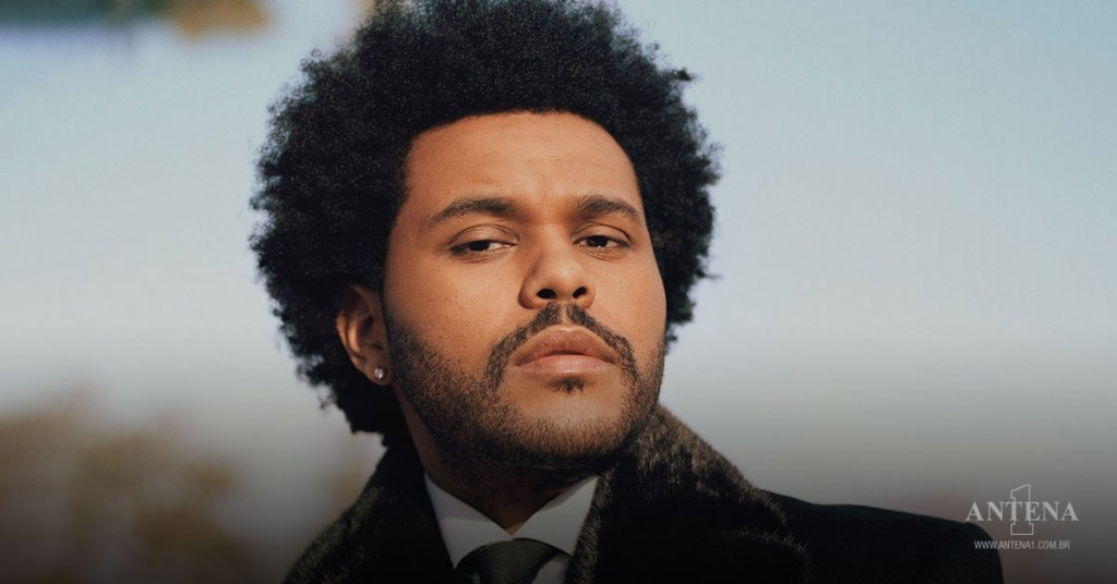 Placeholder - loading - The Weeknd em fundo característico