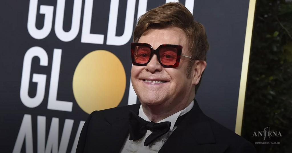 Placeholder - loading - Elton John durante o Globo de Ouro 2020