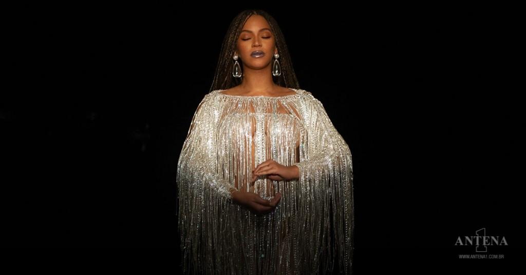 Placeholder - loading - Beyonce em fundo preto