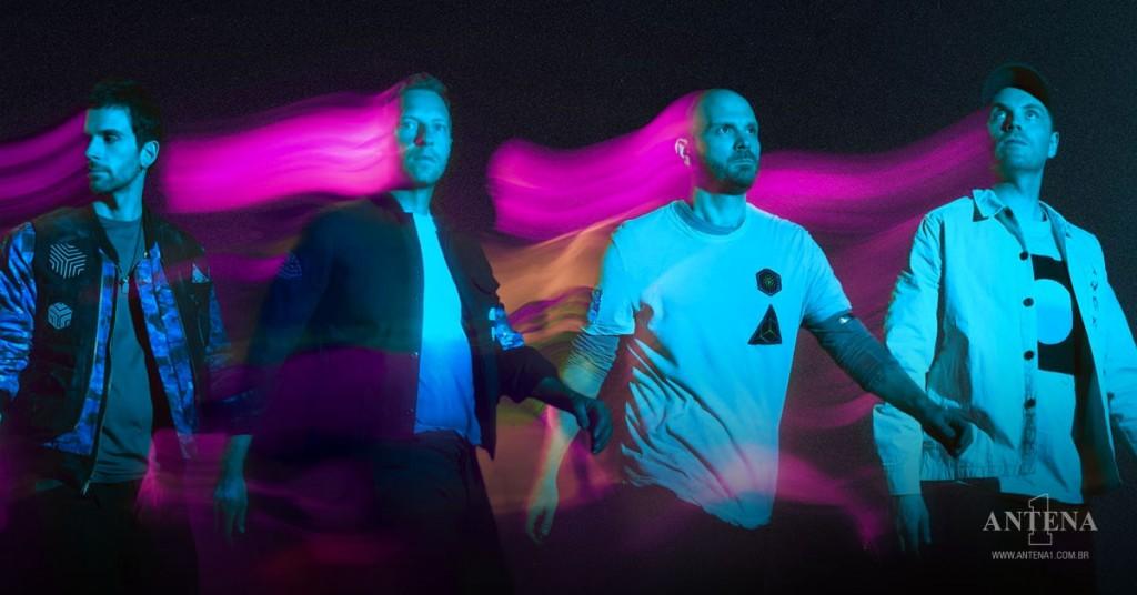 Placeholder - loading - Coldplay em fundo característico