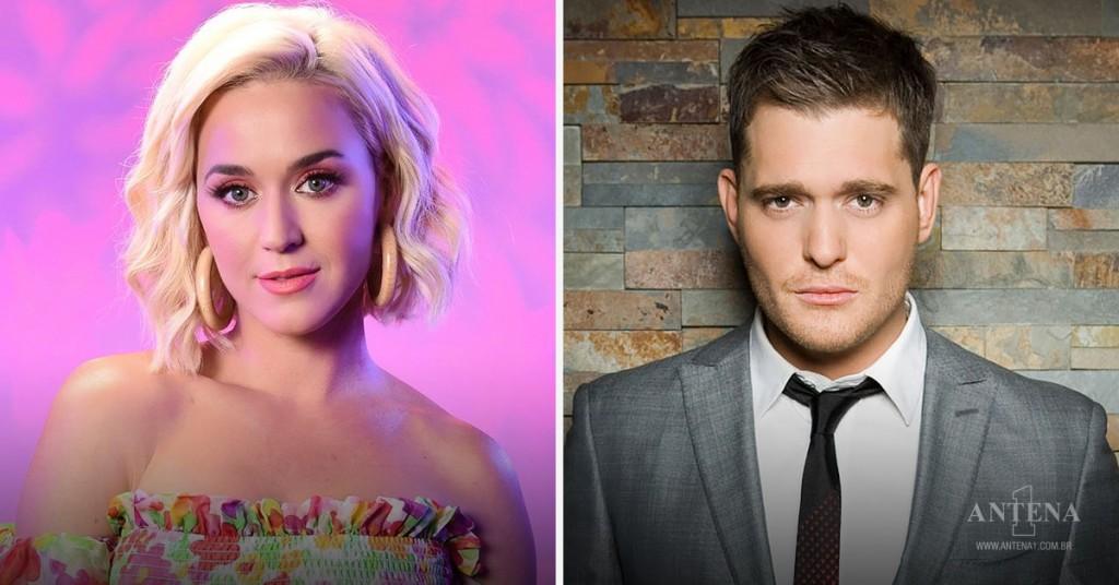 Placeholder - loading - Katy Perry e Michael Bublé – Antena 1/Divulgação