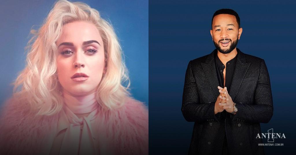 Placeholder - loading - Katy Perry e John Legend em seus respectivos cenários