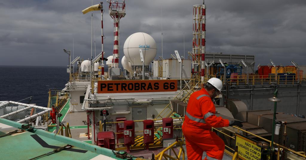 Placeholder - loading - Plataforma da Petrobras na Bacia de Santos (RJ)  05/09/2018 REUTERS/Pilar Olivares