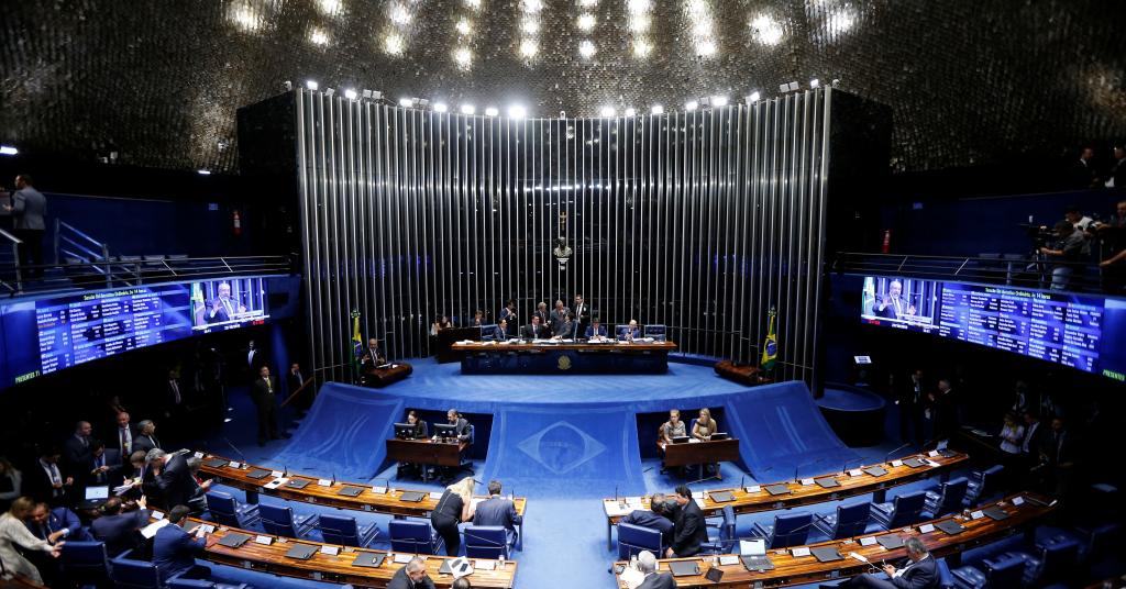 Placeholder - loading - Plenário do Senado durante votação da reforma da Previdência 22/10/2019 REUTERS/Adriano Machado