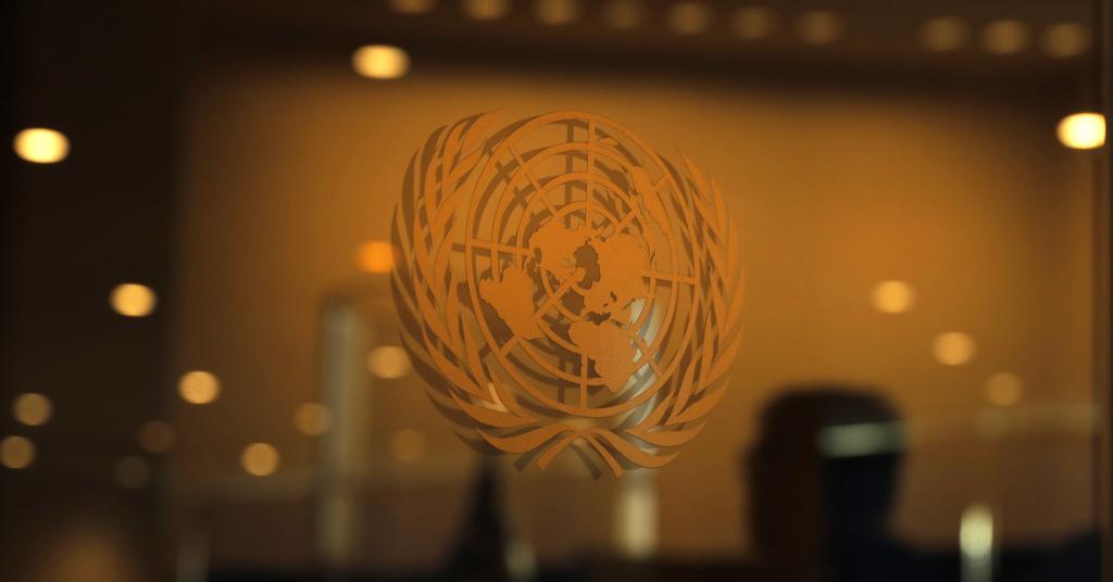 Placeholder - loading - Logo da Organização das Nações Unidas (ONU)  23/09/2019 REUTERS/Lucas Jackson