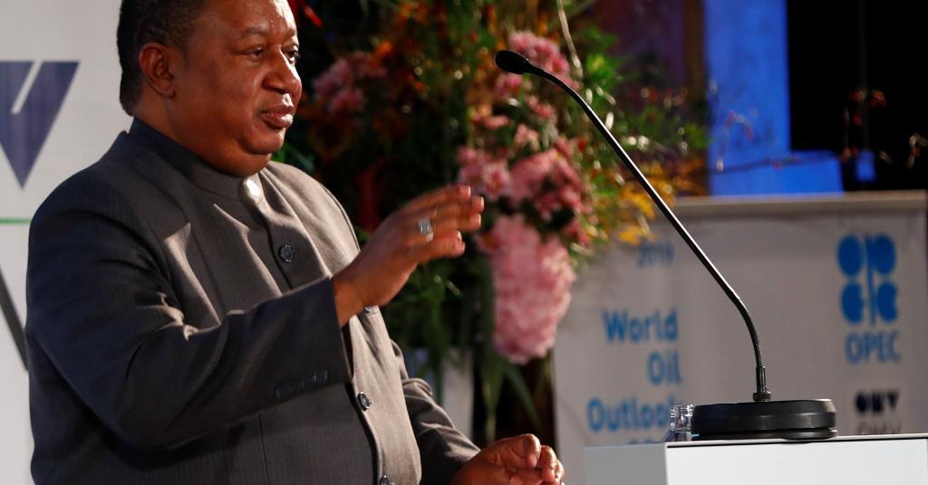 Placeholder - loading - Secretário-geral da Organização dos Países Exportadores de Petróleo (Opep), Mohammad Barkindo 05/11/2019 REUTERS/Leonhard Foeger