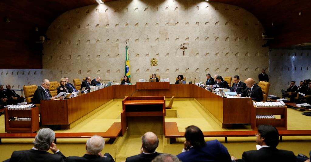 Placeholder - loading - Plenário do STF durante sessão  04/04/2018 REUTERS/Adriano Machado