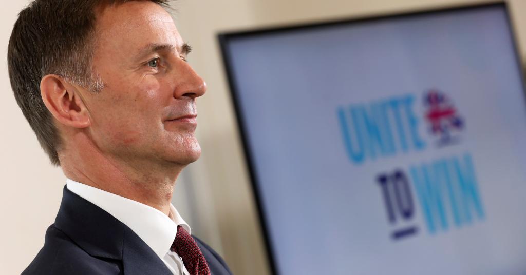 Placeholder - loading - Jeremy Hunt, um dos principais candidatos na disputa para o cargo de primeiro-ministro do Reino Unido, em Londres 10/06/2019 REUTERS/Simon Dawson