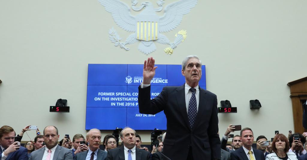 Placeholder - loading - Ex-procurador especial dos EUA Robert Mueller durante audiência no Congresso 24/07/2019 REUTERS/Jonathan Ernst