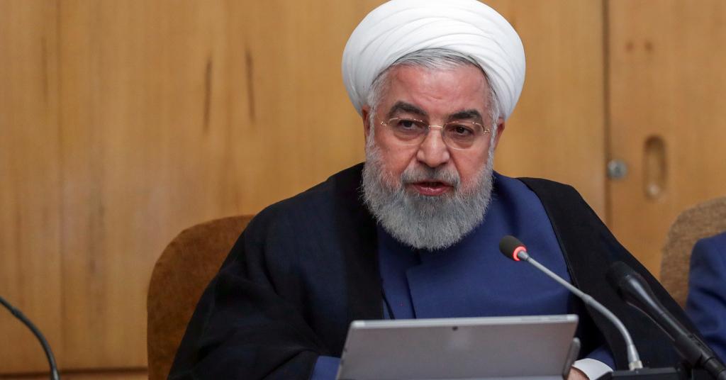 Placeholder - loading - Presidente do Irã, Hassan Rouhani, durante reunião de gabinete em Teerã 14/08/2019 Site oficial do presidente/Divulgação via REUTERS