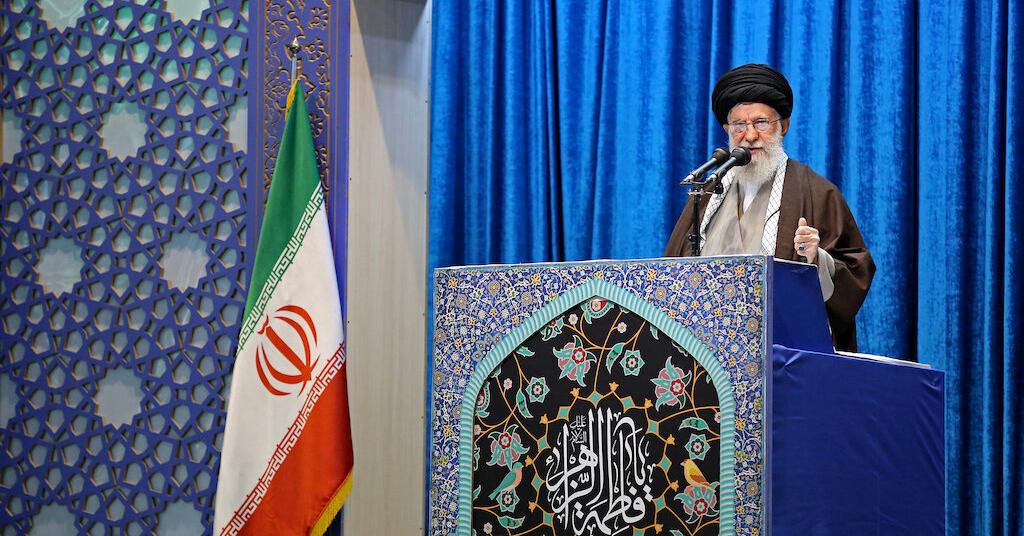 Placeholder - loading - Líder supremo do Irã, aiatolá Ali Khamenei, em Teerã 17/01/2020 Website de Khamenei/Divulgação via REUTERS
