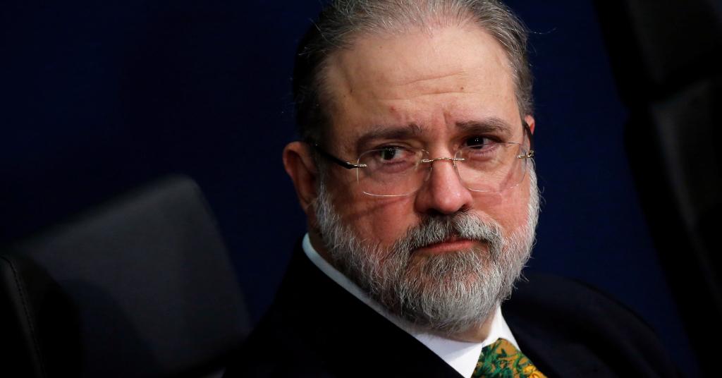 Placeholder - loading - Procurador-geral da República, Augusto Aras, durante cerimônia de posse  2/10/2019 REUTERS/Adriano Machado