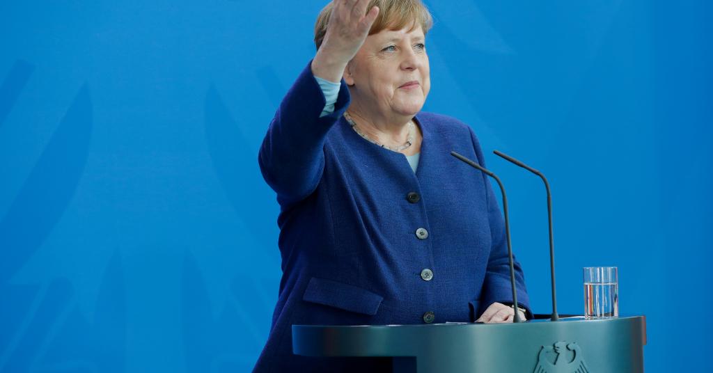 Placeholder - loading - Chanceler alemã, Angela Merkel, e Berlim 20/05/2020 Odd Andersen/Pool via REUTERS
