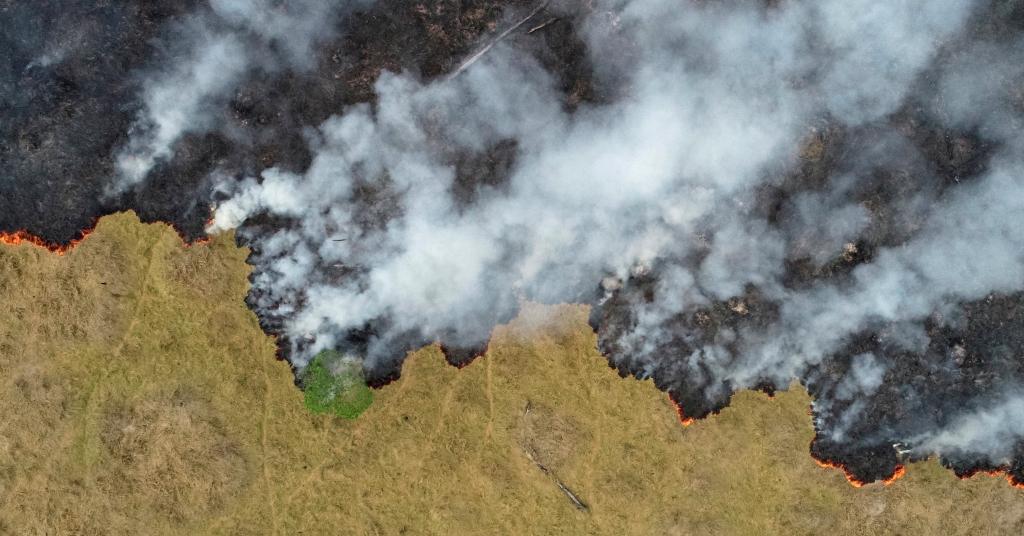 Placeholder - loading - Queimada em área desmatada da Floresta Amazônica na região de Porto Velho (RO)  24/08/2019 REUTERS/Ueslei Marcelino