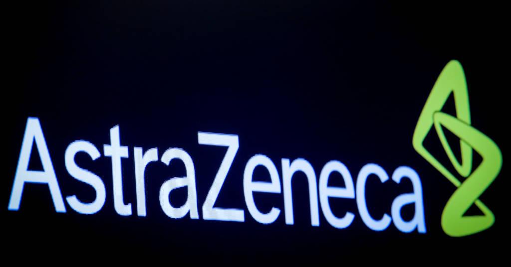 Placeholder - loading - Logo da AstraZeneca na Bolsa de Valores de Nova York 08/04/2019 REUTERS/Brendan McDermid