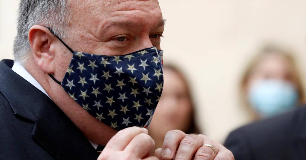 Placeholder - loading - Secretário de Estado dos EUA, Mike Pompeo, durante visita à Croácia 02/10/2020 Darko Bandic/Pool via REUTERS