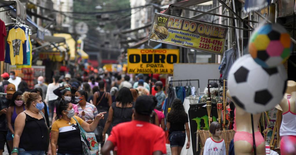 Placeholder - loading - Rua em região central do Rio de Janeiro  REUTERS/Lucas Landau
