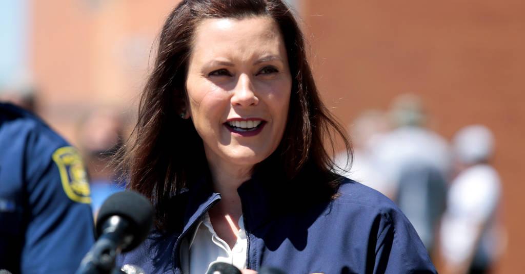 Placeholder - loading - Governadora do Michigan, Gretchen Whitmer 20/05/2020 REUTERS/Rebecca Cook