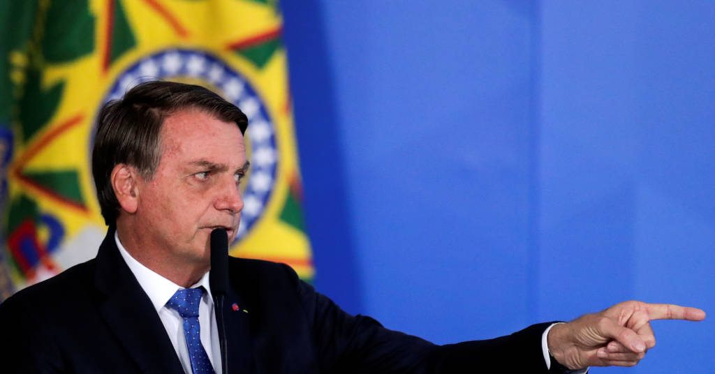 Placeholder - loading - Presidente Jair Bolsonaro no Palácio do Planalto  07/10/2020 REUTERS/Ueslei Marcelino