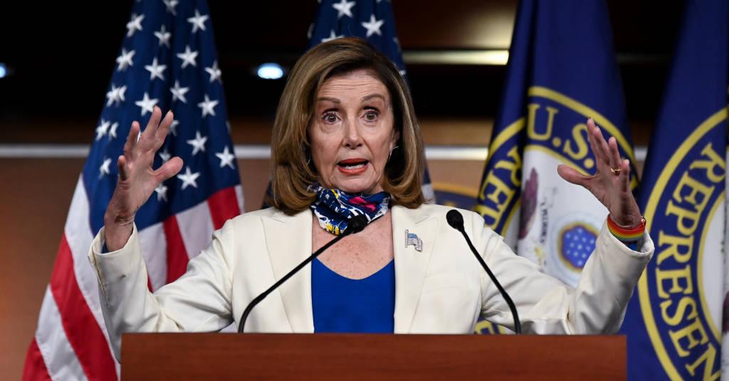 Placeholder - loading - A presidente da Câmara dos Deputados,  Nancy Pelosi. 01/10/2020. REUTERS/Erin Scott.