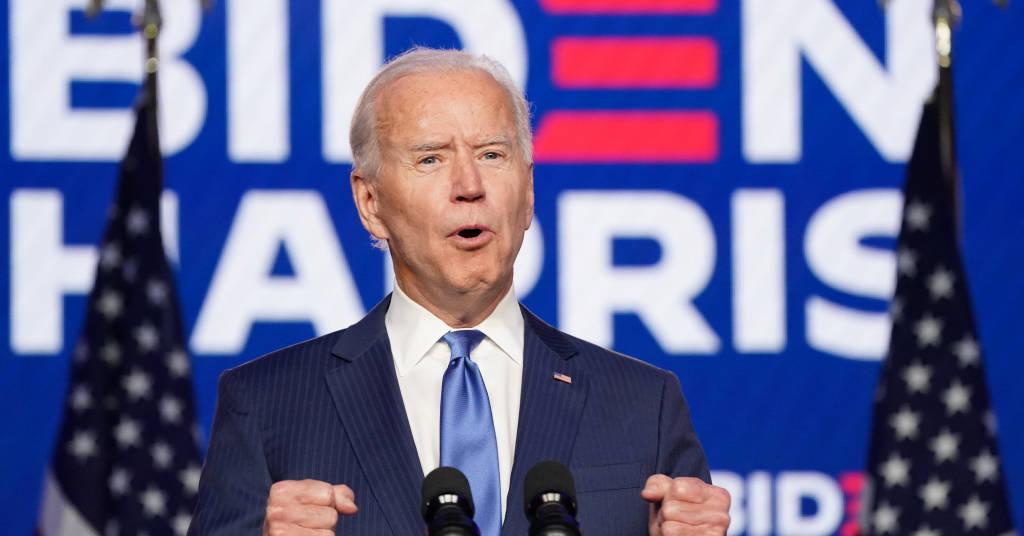 Placeholder - loading - Joe Biden em Delaware. REUTERS/Kevin Lamarque