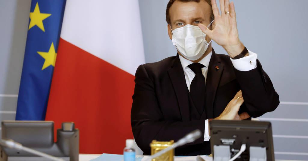 Placeholder - loading - Presidente francês, Emmanuel Macron, em Paris. Ludovic Marin/Pool via REUTERS