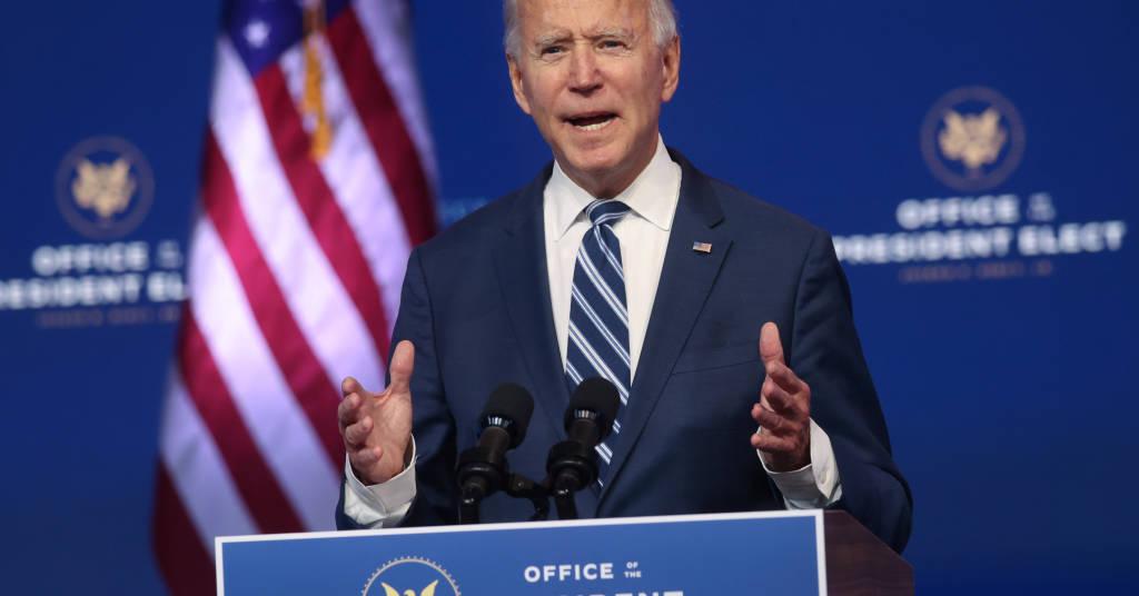Placeholder - loading - Presidente eleito dos EUA, Joe Biden, durante entrevista coletiva em Wilmington, Delaware 10/11/2020 REUTERS/Jonathan Ernst