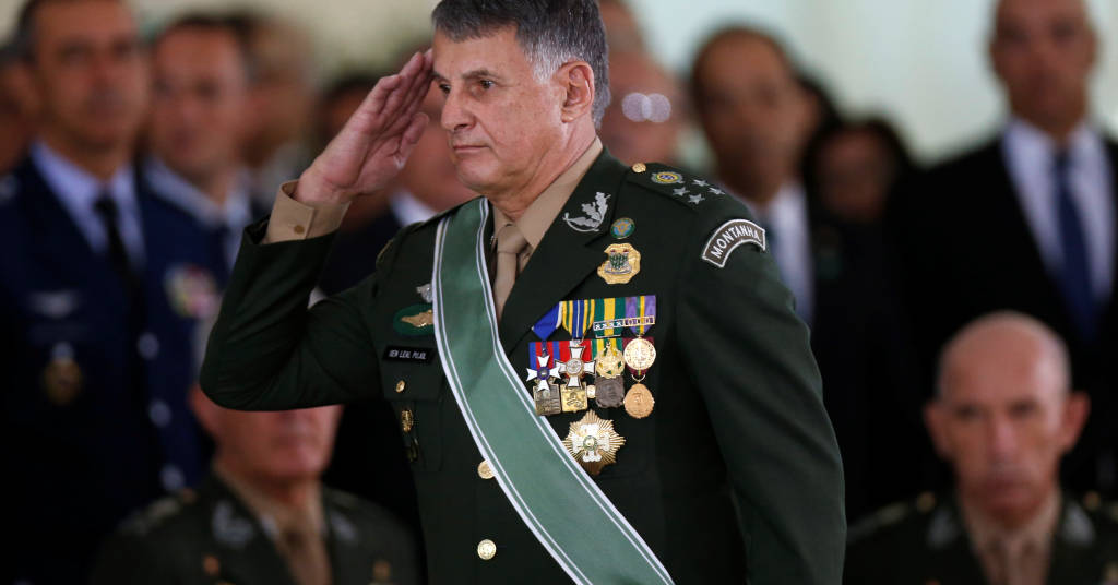 Placeholder - loading - Comandante do Exército, general Edson Pujol 11/01/2019 REUTERS/Adriano Machado