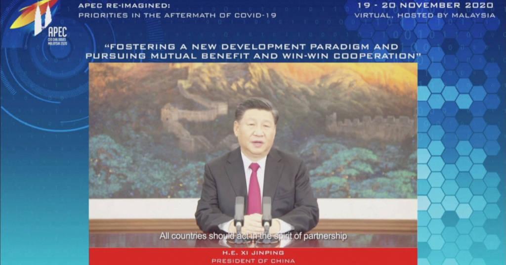 Placeholder - loading - Presidente chinês, Xi Jinping via REUTERS TV