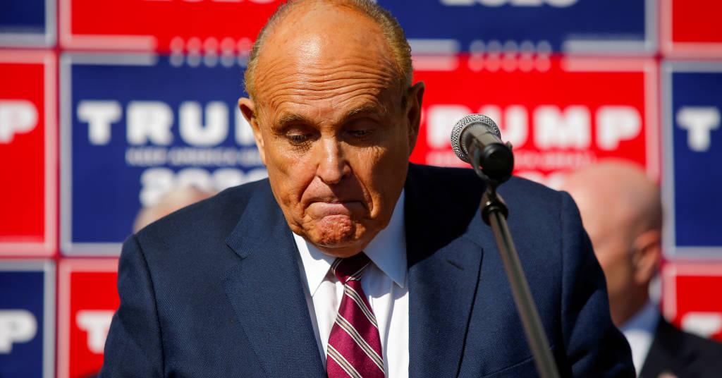 Placeholder - loading - Advogado de Trump Rudy Giuliani  07/11/2020 REUTERS/Eduardo Munoz