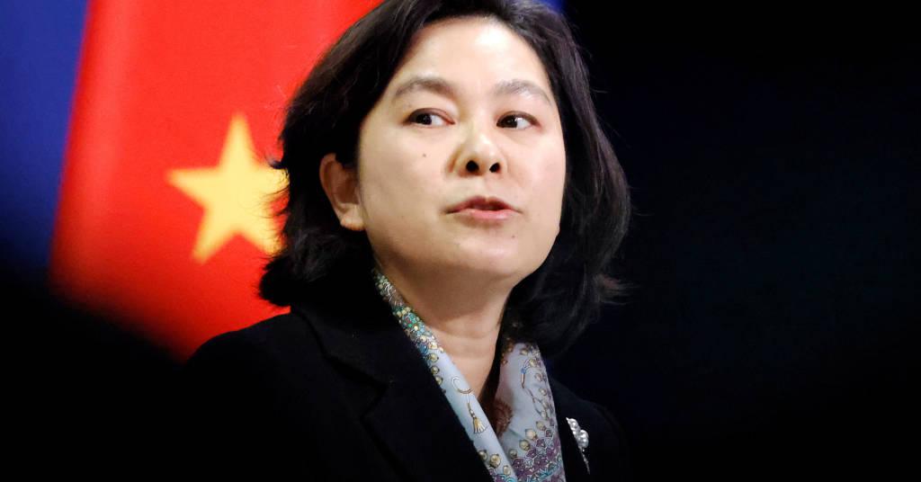 Placeholder - loading - Porta-voz do Ministério das Relações Exteriors da China Hua Chunying durante entrevista coletiva em Pequim 30/11/2020 REUTERS/Thomas Peter