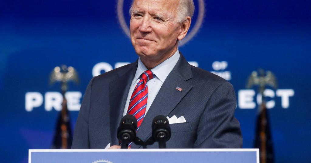 Placeholder - loading - Presidente eleito dos EUA, Joe Biden 04/12/2020 REUTERS/Leah Millis