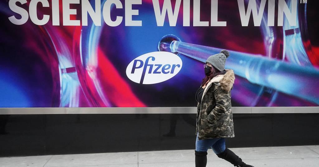Placeholder - loading - Prédio da Pfizer em Nova York 07/12/2020 REUTERS/Carlo Allegri
