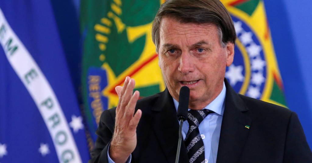 Placeholder - loading - Presidente Jair  Bolsonaro durante cerimônia no Palácio do Planalto 26/11/2020 REUTERS/Adriano Machado