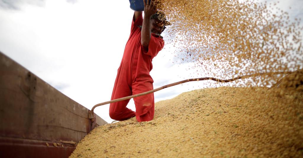 Placeholder - loading - Carregamento de soja REUTERS/Ueslei Marcelino