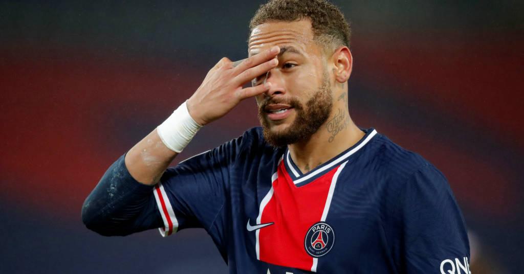 Placeholder - loading - Neymar em partida do Paris St Germain e Olympique Lyonnais  13/12/2020 REUTERS/Charles Platiau