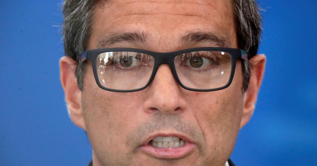 Placeholder - loading - Roberto Campos Neto, durante entrevista à imprensa  27/3/2020 REUTERS/Ueslei Marcelino